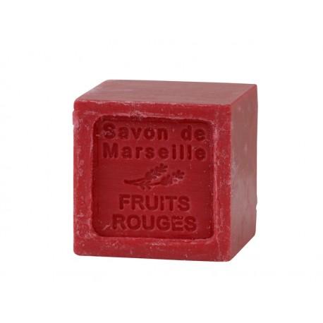 Mydło marsylskie czerwone owoce