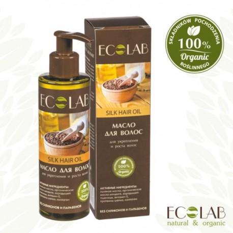 Jedwabny olejek do włosów - intensywne wzmocnienie i wzrost