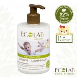 Kremowe mydło dla dzieci i niemowląt 0+ bez łez