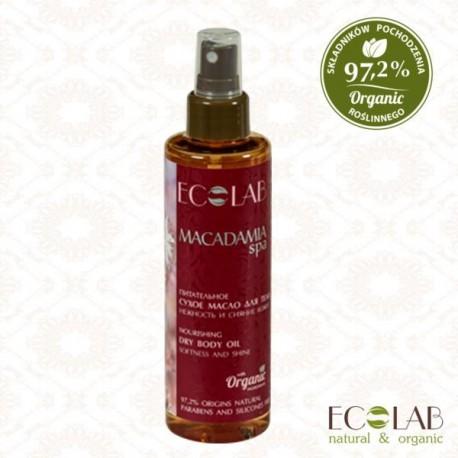 Macadamia SPA odżywczy suchy olejek do ciała EC LAB