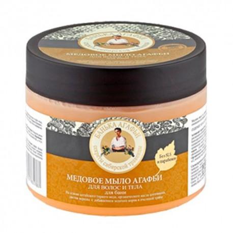 Mydło do ciała i włosów miodowe - doskonale oczyszcza, odżywia i regeneruje