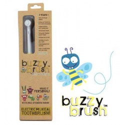 Szczoteczka elektryczna do zębów dla dzieci Buzzy Brush + naklejki