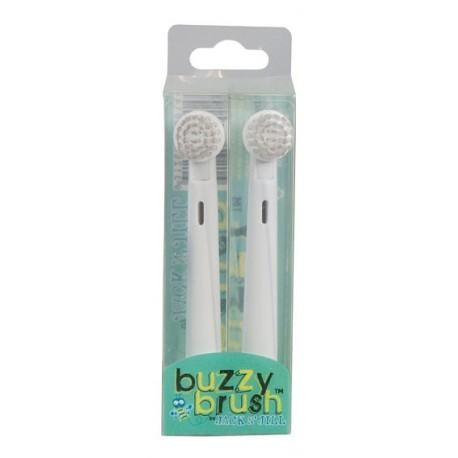 Wymienne końcówki do szczoteczki elektrycznej Buzzy Brush