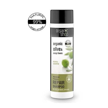 Organiczny REGENERUJĄCY szampon do włosów - MAROKAŃSKA KSIĘŻNICZKA