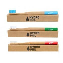 Szczoteczka do zębów bambusowa dla dorosłych - średnio-miękkie włosie
