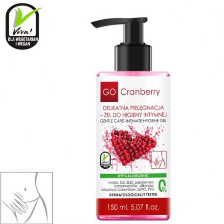 Deliktny żel do higieny intymnej GoCranberry