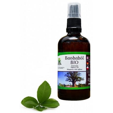 Olej baobab 100%, tłoczony na zimno - do twarzy, ciała i włosów
