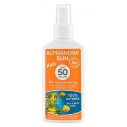 Krem mineralny dla dzieci przeciwsłoneczny SPF 50+ wodoodporny UVA UVB