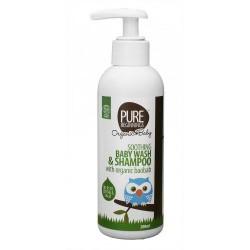 Łagodzący żel do mycia ciała i szampon 2 w 1