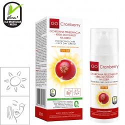 Ochronna pielęgnacja - krem do twarzy na dzień 10 SPF GoCranberry