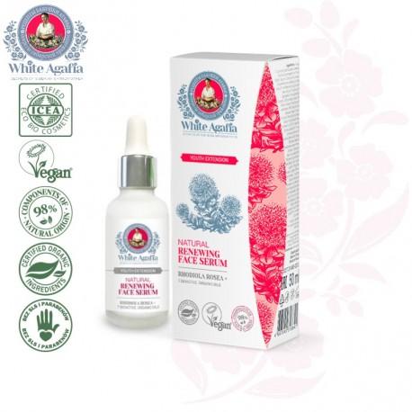 Organiczny serum do twarzy 35-50 lat MŁODZIEŃCZY BLASK