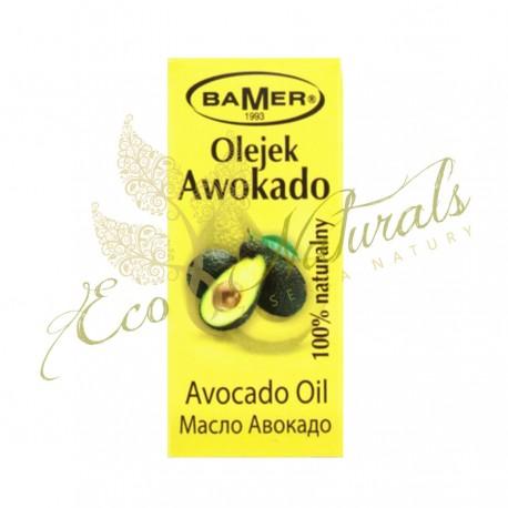 Olej awokado 100%, tłoczony na zimno - do twarzy, ciała i włosów