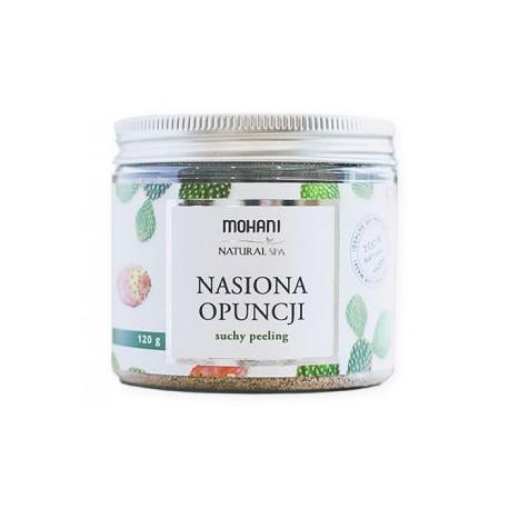 Suchy peeling z mielonych nasion opuncji figowej