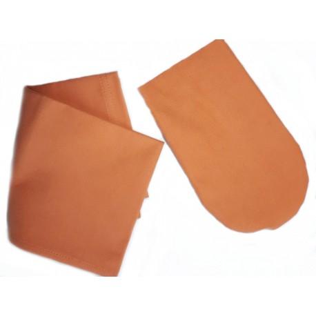 Rękawiczka + ręcznik ze srebrem antybakteryjna i szybko schnąca