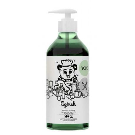 Naturalny płyn do mycia naczyń OGÓREK