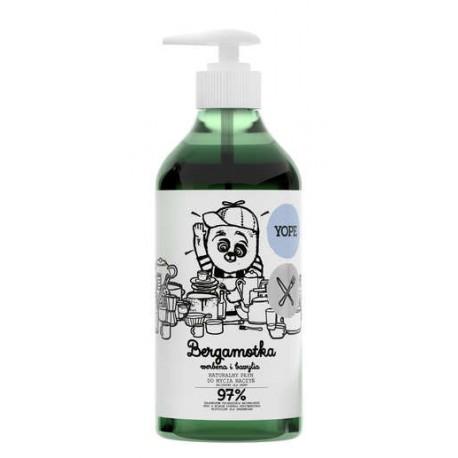 Naturalny płyn do mycia naczyń BERGAMOTKA