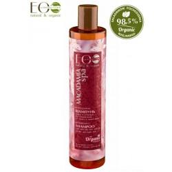 Odżywczy szampon OBJĘTOŚĆ I GŁĘBOKA ODBUDOWA dla włosów cienkich i łamliwych