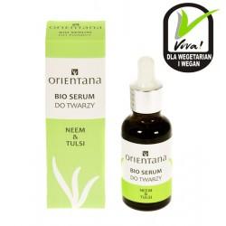 Naturalne bio serum do twarzy NEEM i TULSI