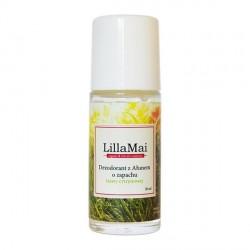 Naturalny dezodorant z ałunem o zapachutrawy cytrynowej