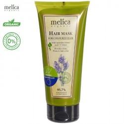 Maska organiczna do włosów farbowanych z ekstraktem z lawendy i filtrami UV