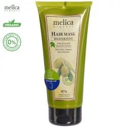 Maska organiczna do włosów REGENERUJĄCA z ekstraktem z łopianu