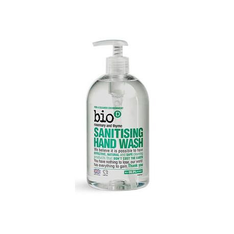 Antybakteryjne mydło do rąk zabija 99,9% bakterii - rozmaryn i tymianek