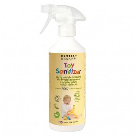 Dziecięcy spray dezynfekujący do mycia zabawek