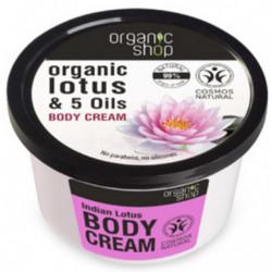Organiczny krem do ciała INDYJSKI LOTOS