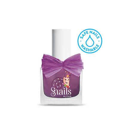 Bezpieczny lakier do paznokci dla dziewczynek - PURPLE COMET