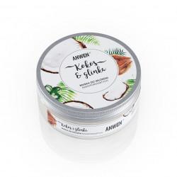 Maska kokos i glinka do włosów NISKOPOROWATYCH