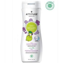 Płyn do mycia i szampon 2w1 dla dzieci GRUSZKOWY NEKTAR i WANILIA