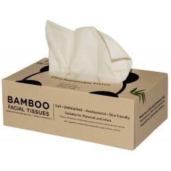 Bambusowe chusteczki higieniczne w kartoniku