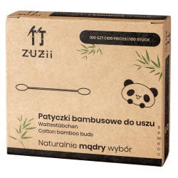 Patyczki kosmetyczne bambusowe do uszu