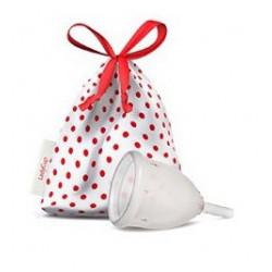 Kubeczek menstruacyjny - PRZEZROCZYSTY