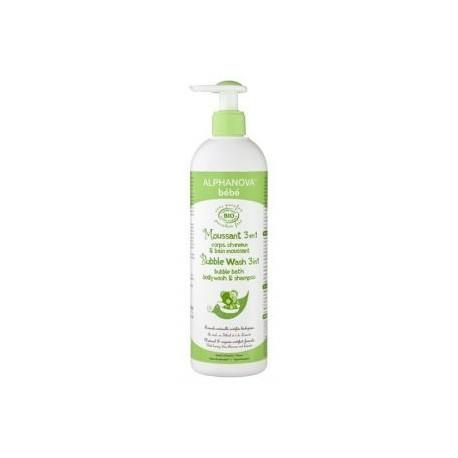 Organiczny płyn do kąpieli dla dzieci 3 w 1z lawendą