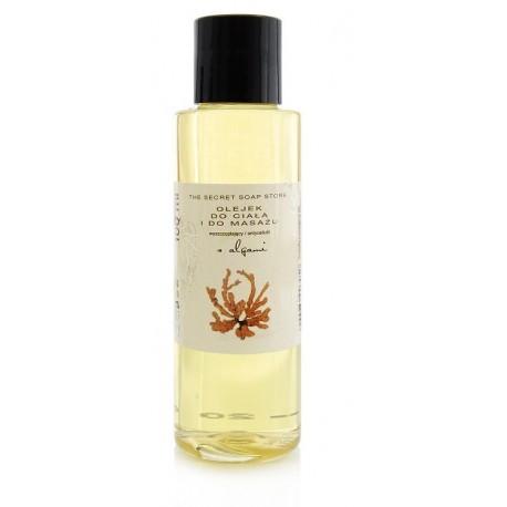 Antycellulitowy olejek do ciała i masażu z algami