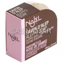 Mydło z Aleppo 12% o zapachu róży damasceńskiej