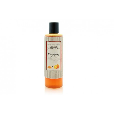 Rewitalizujący żel pod prysznic pomarańcza z kurkumą