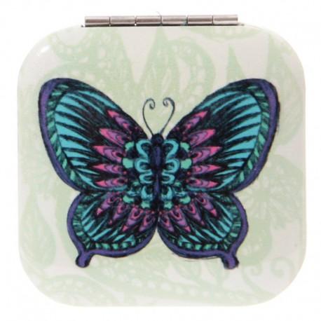 Lusterko z nadrukiem motyla