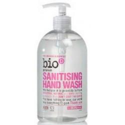 Antybakteryjne mydło do rąk zabija 99,9% bakterii geranium