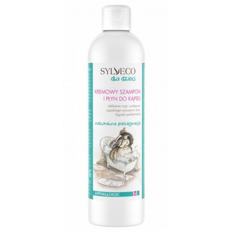Kremowy szampon i płyn do kąpieli dla dzieci
